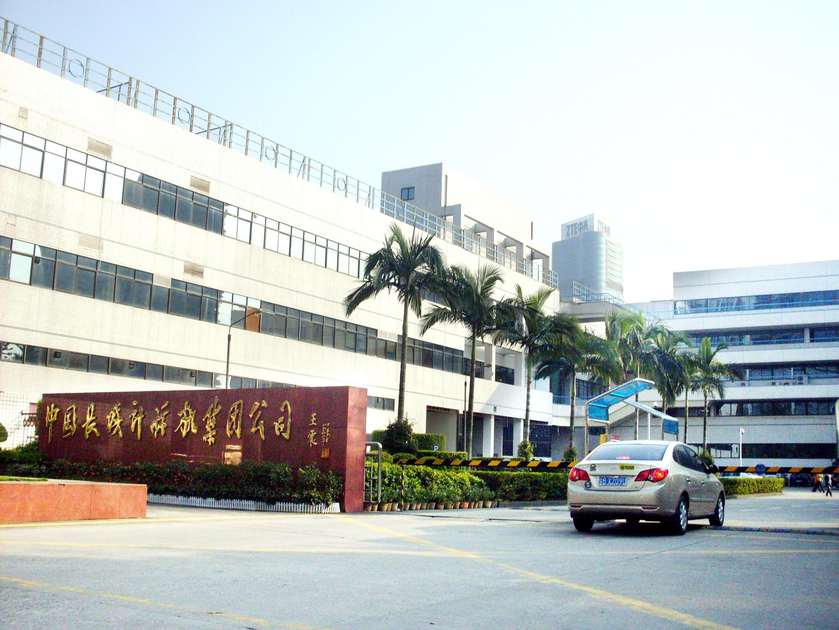 深圳长城计算机照明改造