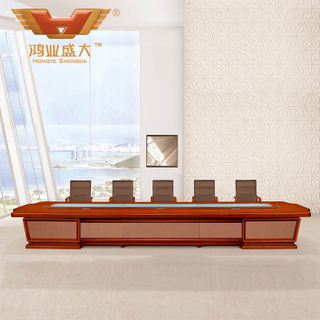 广东鸿业办公家具 厂家直销 会议桌 中式会议桌 HY-A2064