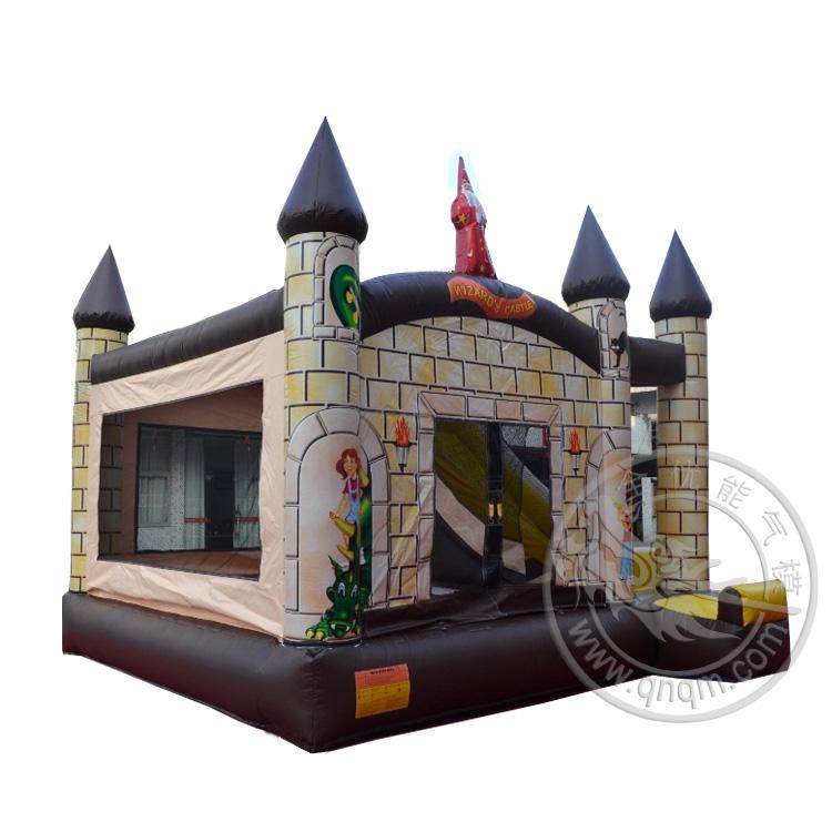 充气城堡跳床