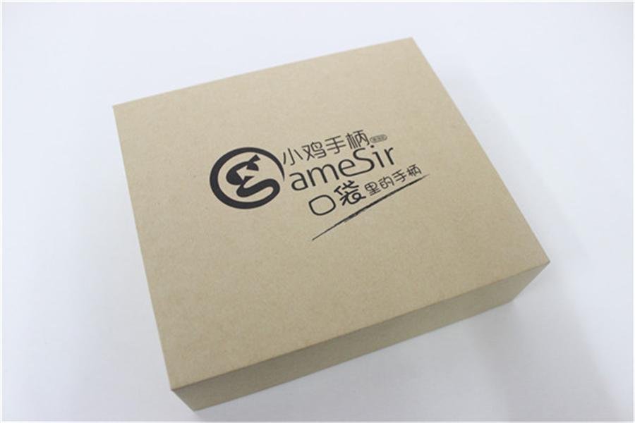 小鸡手柄游戏机精制牛皮纸盒包装解析