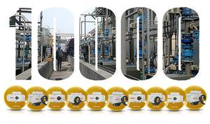 2005年12月:公司實現年度銷售突破10000臺電動執行器;