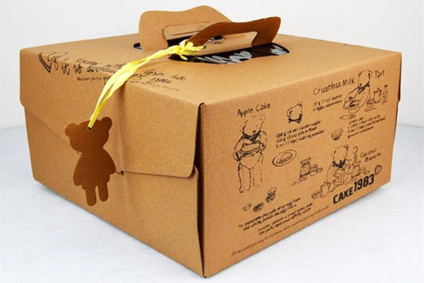 蛋糕盒采用食品级牛皮纸安全吗?
