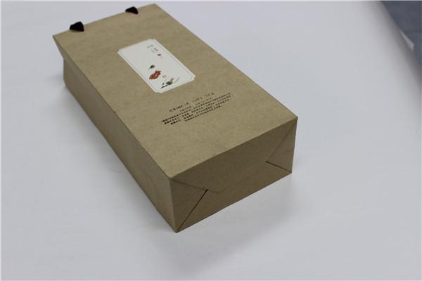 寻香茶叶牛皮纸包装袋包装盒解析