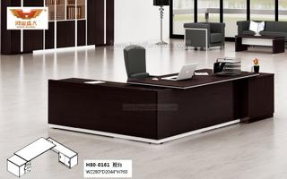 厂家直销 黑橡木办公桌 现代时尚办公室大班台 H80-0161