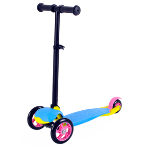 Tri-scooter with folding function and adjustable T-bar