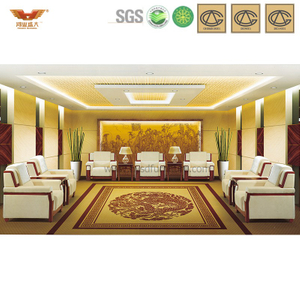 办公沙发 简约布艺沙发 现代时尚办公室接待沙发 HY-S816
