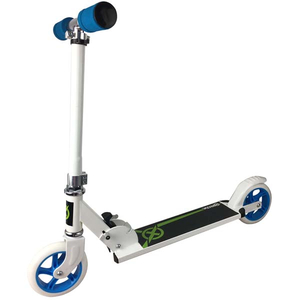 Half aluminum and half steel scooter with 145mm PU wheel
