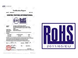 2014-08-25:DCL全系列產品通過歐盟RoHS認證