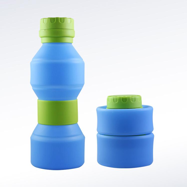 硅胶折叠水壶