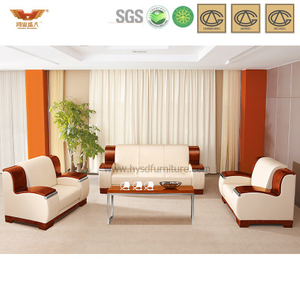 办公沙发 皮制现代接待沙发 现代时尚办公室接待真皮沙发 HY-S840
