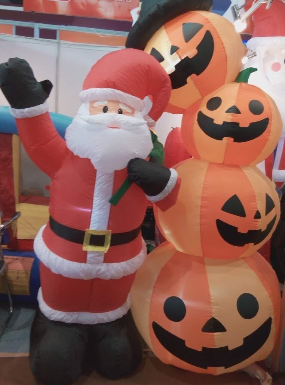 圣诞老人气模