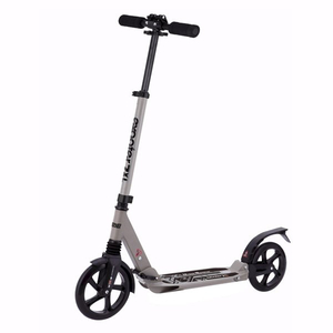 200mm wheel scooter with front and rear suspension