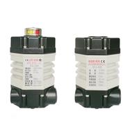 2007年1-6月:DCL-02系列超小型電動執行器研制成功,并獲國家專利局授予專利權;
