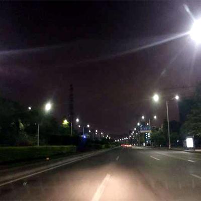 东莞市横沥路灯照明改造