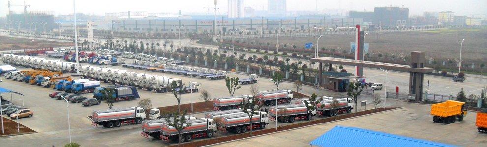 China Trucks factory