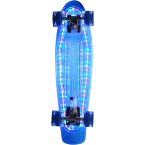 Pennyboard with lighting function