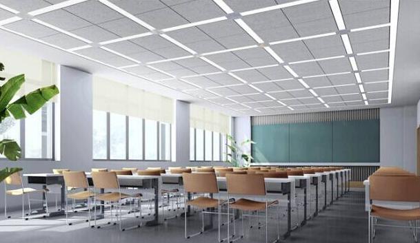 教室照明灯改造的图片