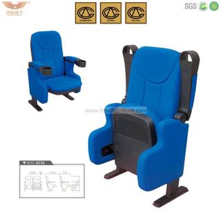 广东鸿业盛大办公家具 厂家直销 礼堂椅 影剧院椅 阶梯教室椅 HYSD-2036