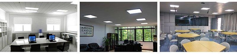 教室专用防眩光面板灯详情图