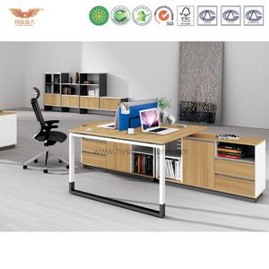 厂家直销 现代板式双人组合台 时尚简约职员办公桌 H90-0207