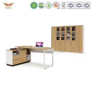 厂家直销 现代板式金橡木班台 时尚简约经理办公桌 H90-0106
