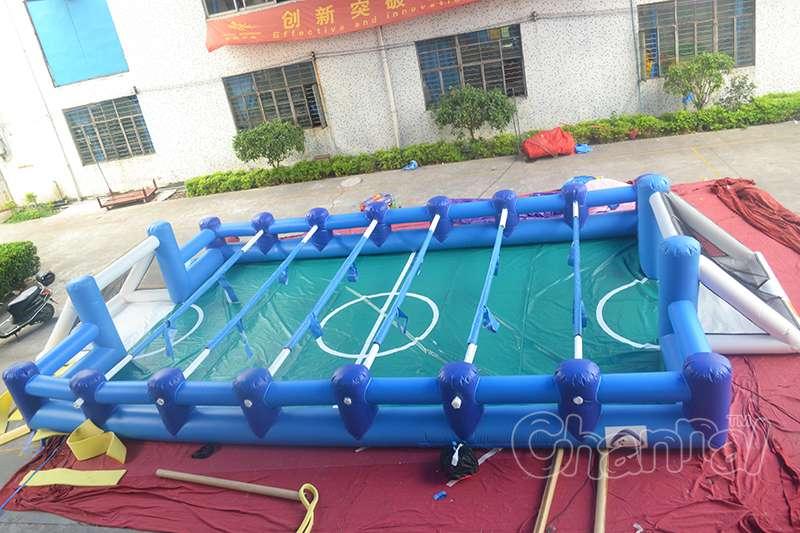 充气足球场