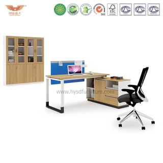 厂家直销 现代板式浅橡木职员班台 时尚简约办公桌 H90-0203