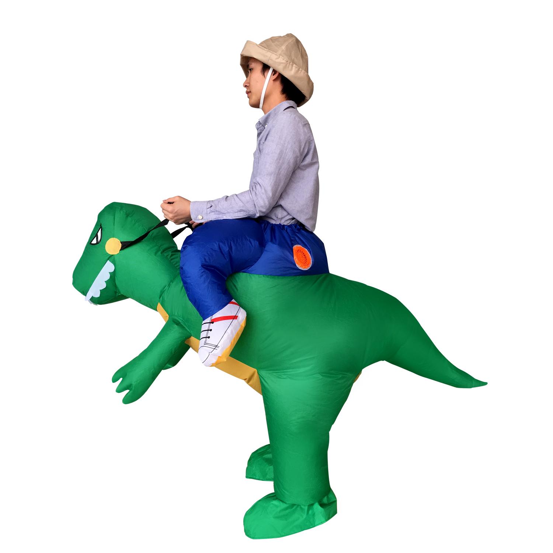 充气恐龙服
