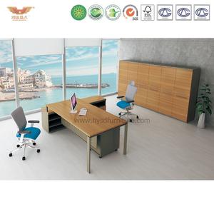 江南家具 现代简约三胺板经理办公桌 VOGUE-MD24