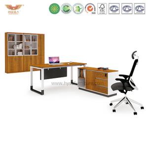 厂家直销 金橡木板式班台 现代时尚办公室经理办公桌 H90-0104