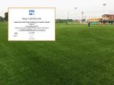 共创人造草助力国内首片FIFA新标准认证场地!