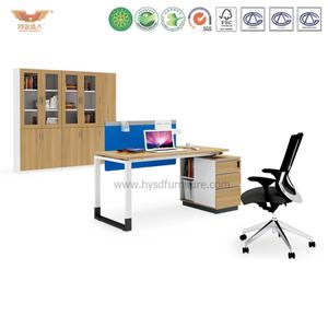 厂家直销 现代板式职员办公桌 时尚简约职员台 H90-0205