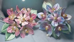 缠花,用线缠绕的美!