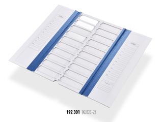 紙質操作板 20格