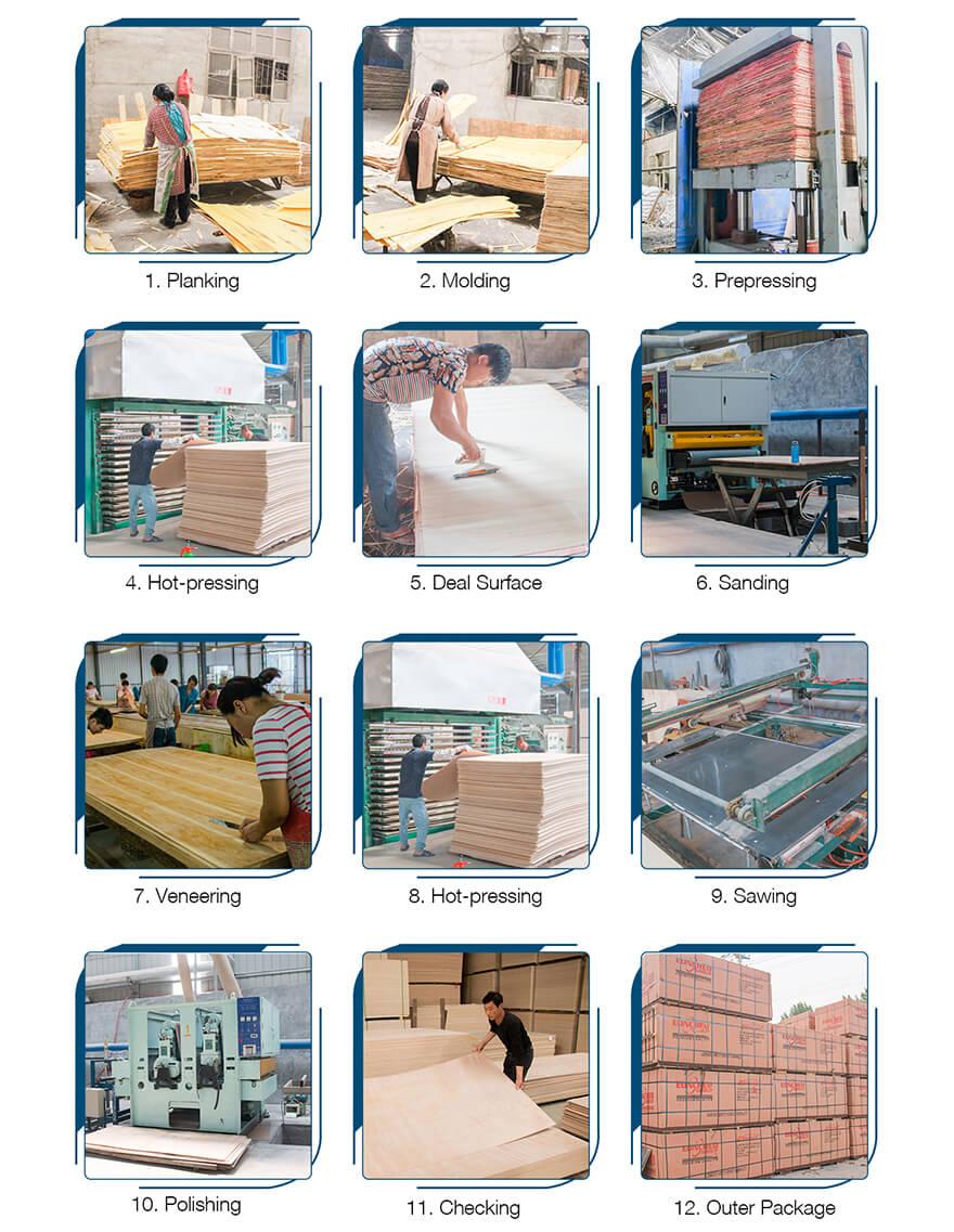 plywood生产流程内页