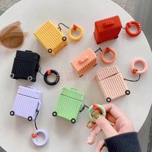 新款airpods保護套硅膠,行李箱耳機套