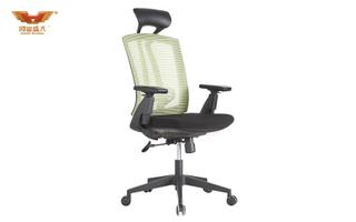 厂家直销 绿背黑座大班椅 现代时尚办公室大班椅 HY-163A