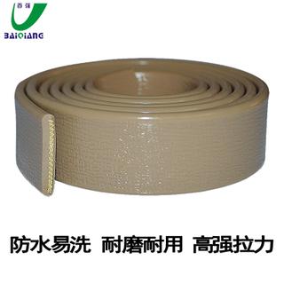 PVC阻燃拉手帶包膠織帶