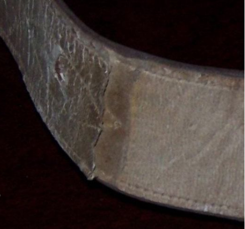 传统牛皮军用腰带-使用不持久