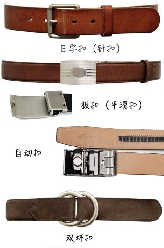 如何选择一条性价比高的皮带腰带?-扣具区别