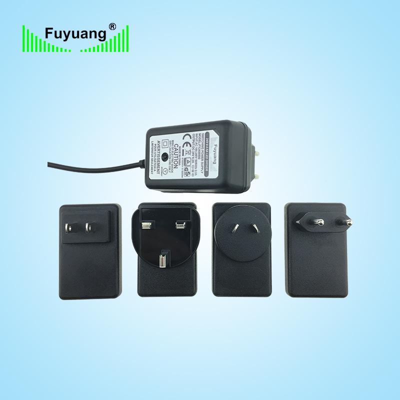 24V1A插墻式電源適配器