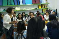 蒙泰护理和广州卫生职业学院的学生