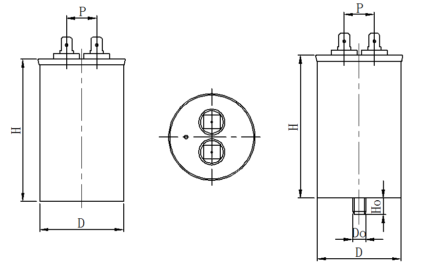 AC motor capacitor ---CBB65