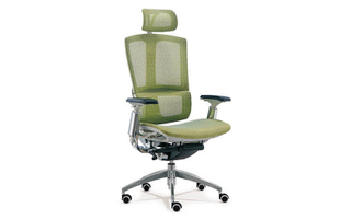 厂家直销 可调节靠枕绿网大班椅 现代时尚办公室大班椅 HY-99A
