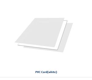 Non lamination sheet/inkjet printing pvc sheet white 0.76mm