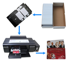 instant pvc card for Epson or Canon printer