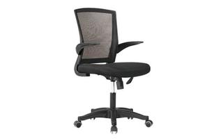 厂家直销 红背黑座中班椅 现代时尚办公室中班椅 HY-36B