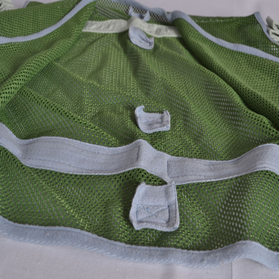 Security constraint vest (netted four belts)