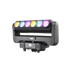 6x60W Zoom LED Beam Bar