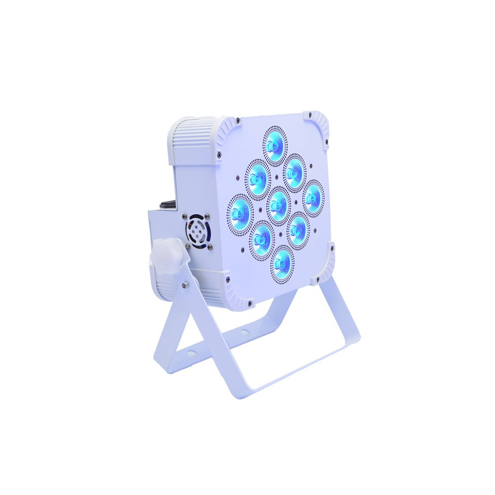 9x18W RGBWaA+UV 6 in1 battery powered led par can